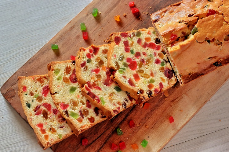 Tutti Fruit Cake Recipe