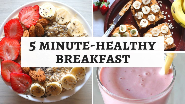 Healthy Breakfast Recipes – Quick & Nutritious
