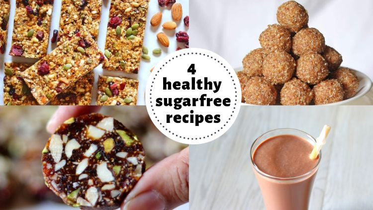 Healthy Sugar Free Snacks & Desserts