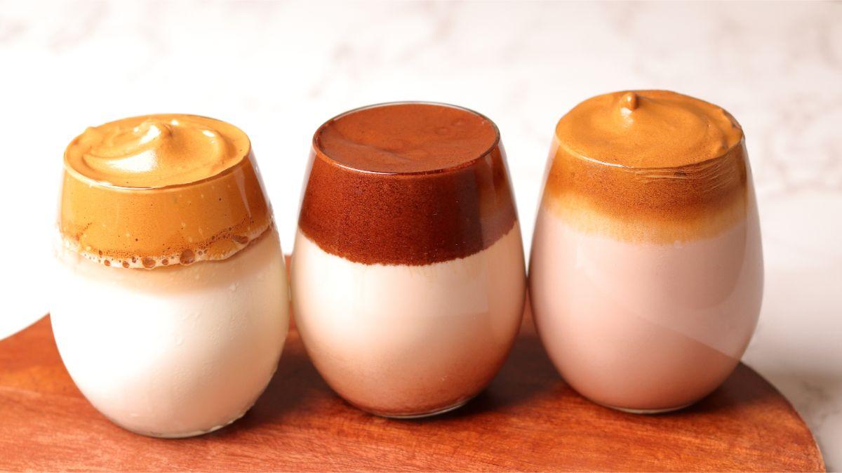 Dalgona Coffee Recipe 3 Ways
