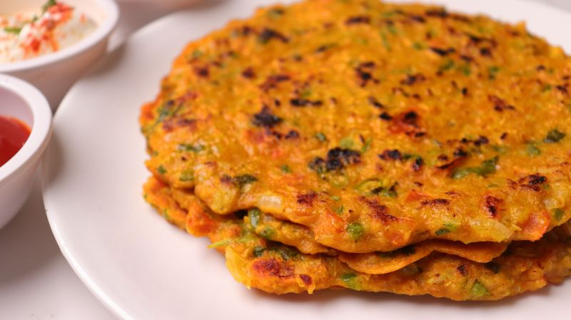 10 Minutes Oats Chilla Recipe For Weight Loss