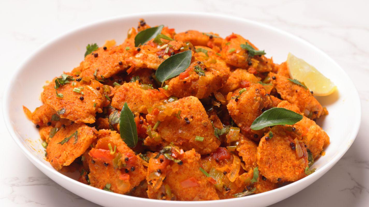 Instant Masala Idli – Restaurant Style