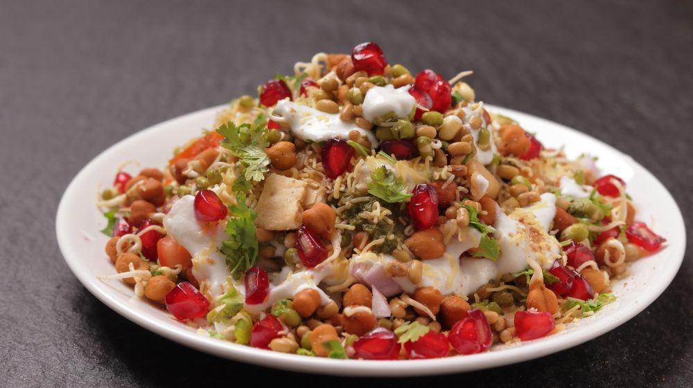 Healthy Sprout Dahi Chaat