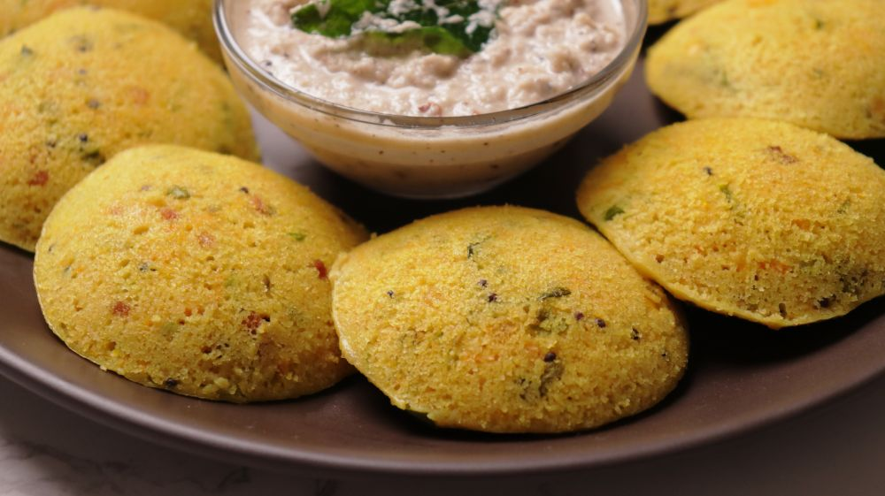 vegetable oats idli