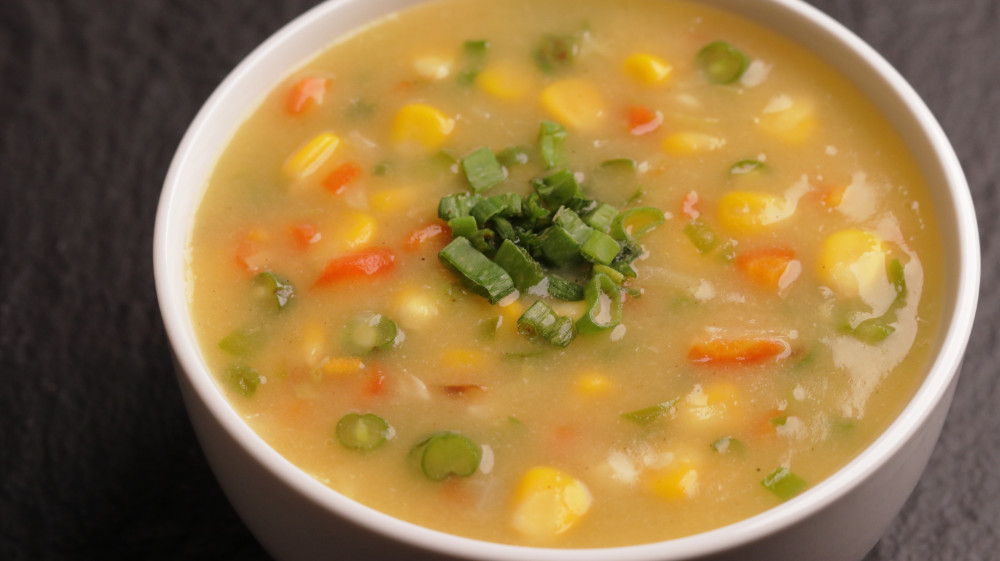 10 Minute Sweet Corn Soup- Restaurant Style