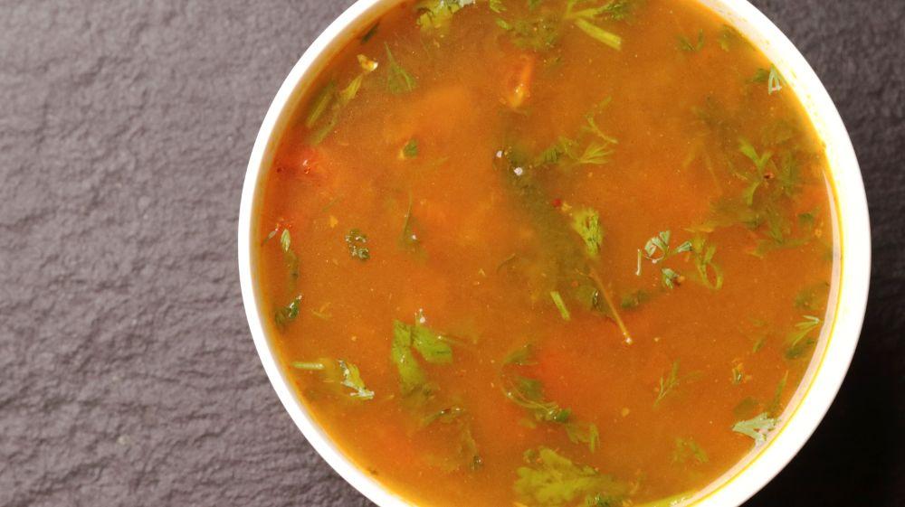 10 Minute Tomato Rasam