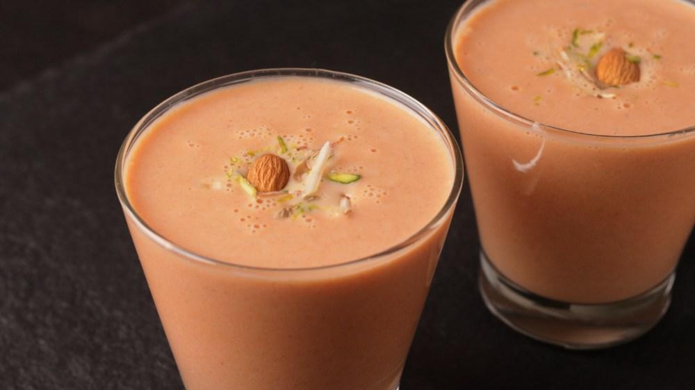Carrot & Badam Milk